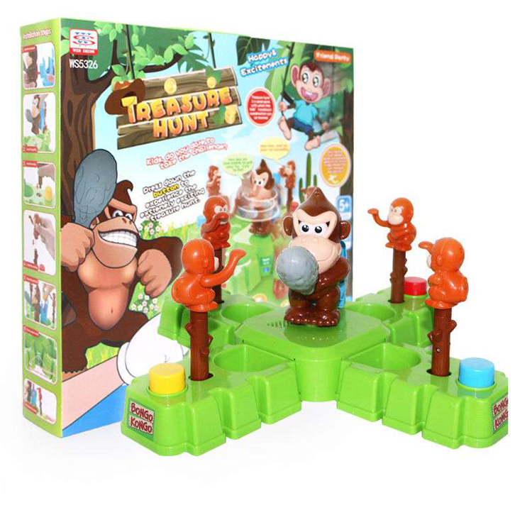 Top Quality Happy Monkey Toy Treasure Hunt Game for Kids
