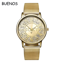 High- grade Stylish Business Ladies Digital Dial Alloy Stainless Steel Mesh Band Wrist Watch