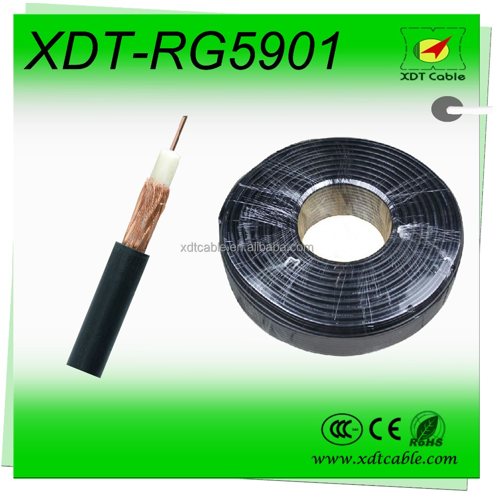 Made in China 75 ohm rj59 coaxial cable/adapter for rj45 rg58 rg59