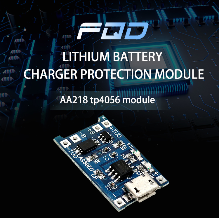 5v 1A MICRO USB Lithium Battery Charger Protection Module Charging Board AA218 Tp4056 Module