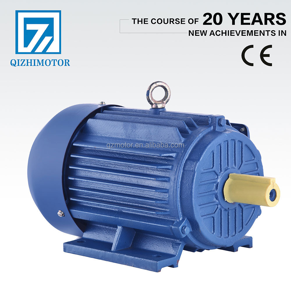 3 phase Squirrel Cage Silicon Steel Sheet 3Kw 960 RPM Motor