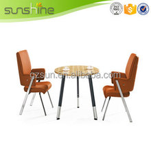 New Arrival top quality s shape coffee led table