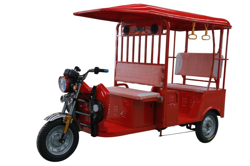 Eco friendly battery rickshaw especially suited for indian road tricycle for passenger