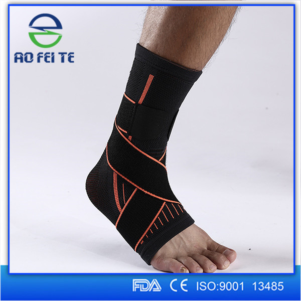 Anti slip adjustable ankle strap/ankle support