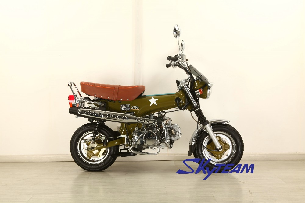 SKYTEAM 125cc 4 stroke SKYMAX motor bike dax(EEC APPROVAL EUROII EURO3) NEW 5.5L BIG FUEL TANK.