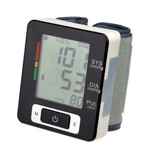 Digital wrist blood pressure monitor with automatic power-off function