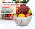 A must buy Wonderful addition to your kitchen stainless steel fruit basket Strainer