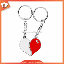 China Supplier Good Price broken heart keychain