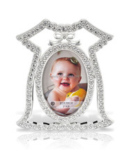 Zinc alloy baby girl picture photo frames