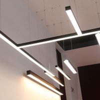 Super brightness suspended garage lights led linear lamps