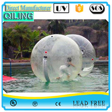 INFLATABLE WATER BALL customized high quality pvc wholesale big promotional inflatable beach jumbo water walk ball