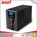 < MUST> Best selling 100% enough power 800W DC12V to AC 230V pure sine wave inverter for home use