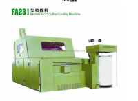 FA231 cotton carding machine