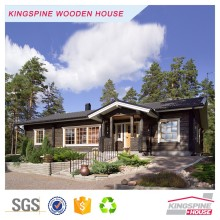 Prefabricated log cabin 1-bedroom bungalow KPL-027