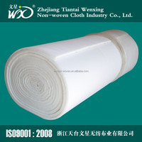 Non-woven Air Filtration Filter Fabric Cloth Material polyester roofing felt
