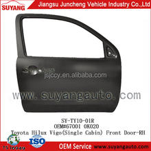 High Quality Steel Front Door RH Used Toyota Hilux Vigo Thailand