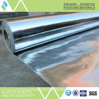 Chinese products wholesale reflective aluminum foil woven heat insulating material