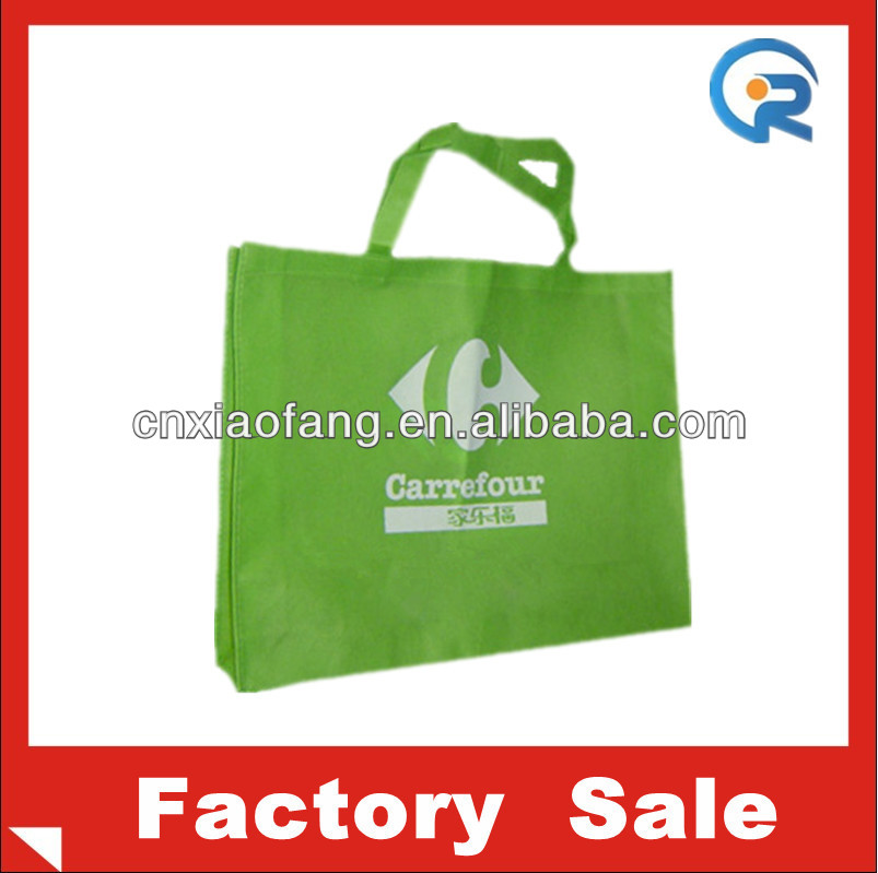Customized advertisement cheap resuable shopping bag/non woven bag