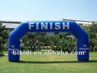 sports finish inflatable arch