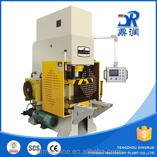 YC41 100 ton guide rod type hydraulic punching machine hydraulic press