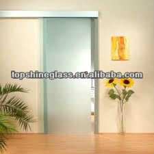 toughened / tempered frosted / acid etched glass door with AN/NZS 2208:1996, BS6206, EN12150