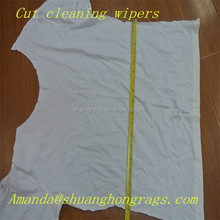 Oil-absorbing cleaning industrial white cotton wiping rags