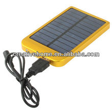 Solar Energy Charger for iPhone / iPad / iPod Touch, MP3 / MP4, Digital Camera and other Mobile Phone, Solar Panel: 0.7W