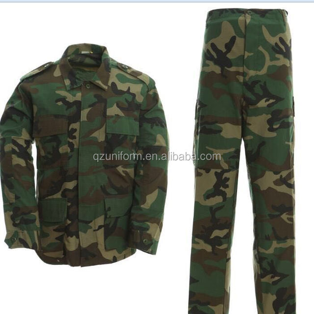 Anti-static Tartical Army Camouflage Military Uniform Custom Made BDU Uniform on alibaba