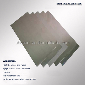 JIS G 4304:2012 SUS440A, SUS440B, SUS440C stainless steel sheets