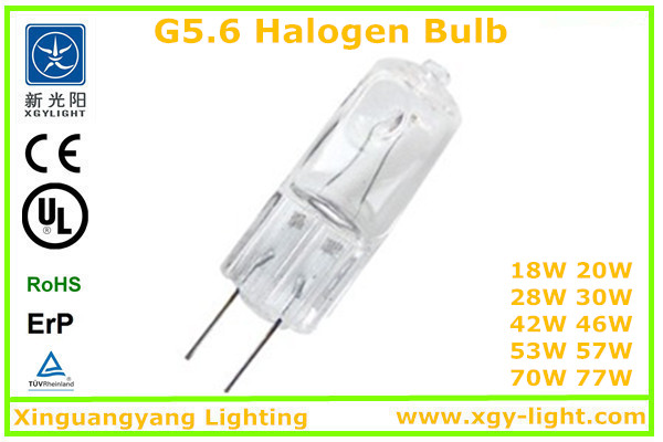JCD G5.6 halogen lighting,bulb light,infrared halogen saving bulbs