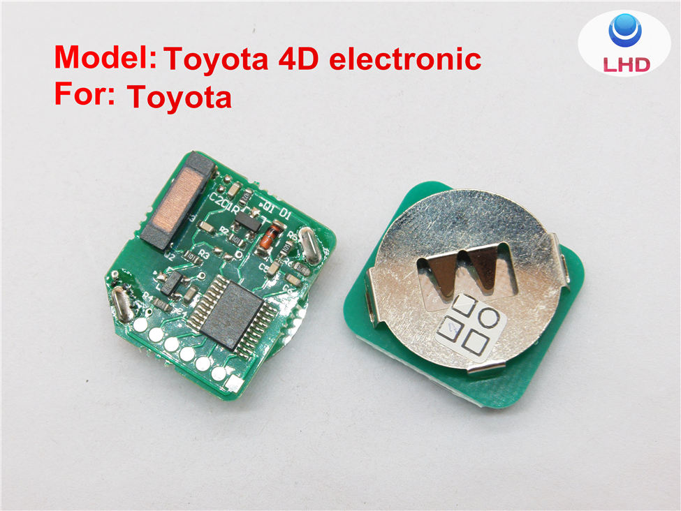 High Quality Toyota 4D electronic chip for car key 4D transponder chip