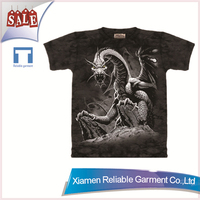 Professional superb design customized t shirts logo/advertising popular printed t shirts