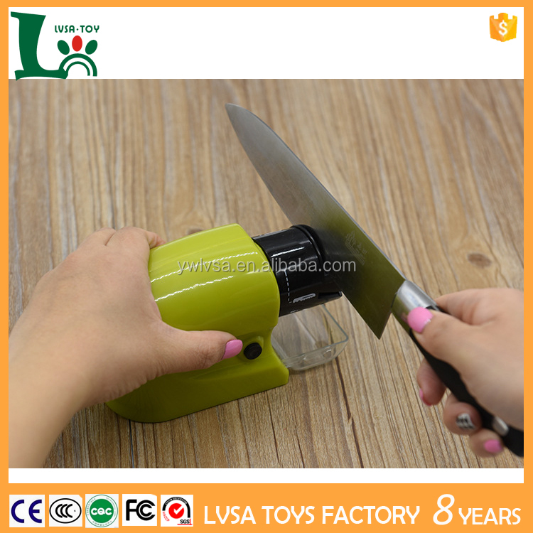 Hot sell As Seen On TV Professional Electric Knife Sharpener Best for Sharpening Kitchen,Ergonomically Design