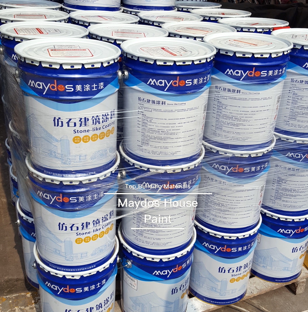 Waterproof Acrylic Exterior Stone Effect Texture Spray Paint
