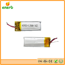 Lithium polymer battery 3.7V 80mAh for RC toy