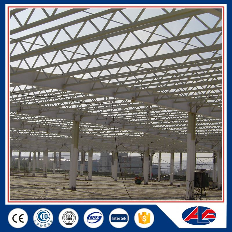 prefabricated steel aluminum roof truss