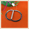 Fashion accessories D ring metal trim for /bag / garment / decoration /shoes/ wholesale with high quality