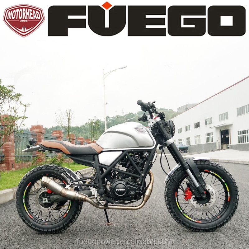 Urban Sports 250cc Motos Motorcycle Scrambler Oil Cooling Sportsbike