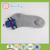 100% cotton men's socks with terry inside