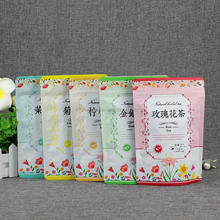 reusable stand up zipper plastic food packaging bag dried food /coffee/sugar /Scented tea package bags