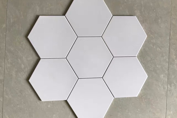 2018 newly 200x230mm hot sales and new design rustic hexagonal tiles