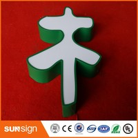 Open Sign type Led Lighting Acrylic Channel Letters Advertising Logos