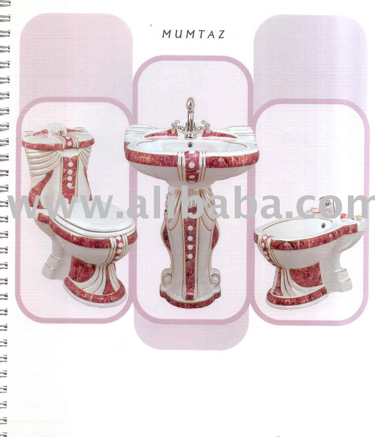 MUMTAZ CERAMIC DECORATED SET