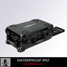IP67 Hard Plastic Waterproof Case with 4 layers Foam Padding HIKINGBOX HTC023