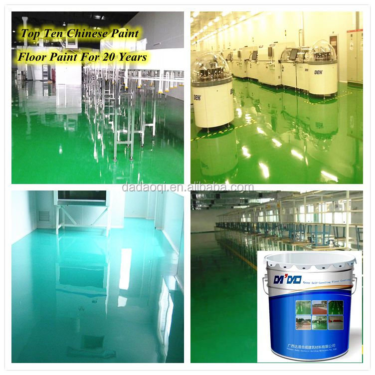 Hot sale car park factory use scratching resistance epoxy floor coating with high quality