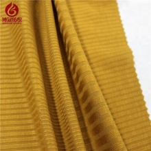100% polyester knitting rib jacquard fabric from keqiao shaoxing