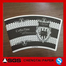 CHENGTAI paper cup raw material/blank /coffee paper cup