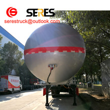3 axles truck lpg tanker for sale /Liquefied Propane Gas Transportation Semi Trailer
