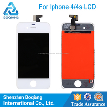 china supplier factory price replacement mobile phone lcd for iphone 4s with digitizer touch