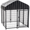 Hot sale fashionable cheap beautiful outdoor dog cages/kennels/pet houses